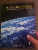 "front cover of the geology book ""In the Beginning"" - about the Hydroplate Theory of Walt Brown"