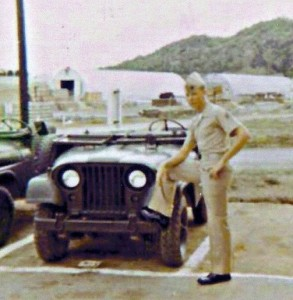 Eyewitness Eskin Kuhn at Guantanamo Bay, Cuba, about 1971