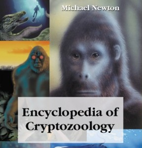 cryptopzoology book - nonfiction - by Michael Newton - published early in 2005