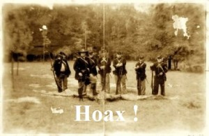 Hoax photo created for an episode of the Freakylinks television series