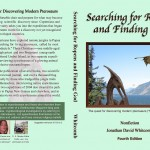 """Searching for Ropens and Finding God"" back and front covers"