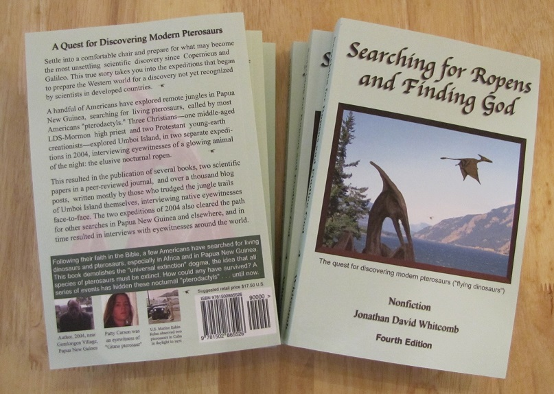 nonfiction spiritual/cryptozoology paperback by Whitcomb