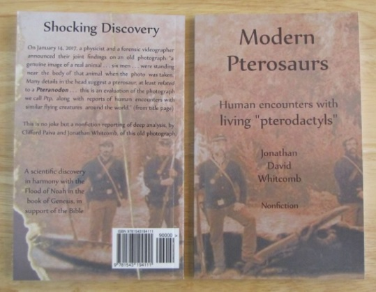 new non-fiction book about non-extinct pterosaurs