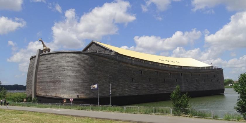 Genesis-Ark replica in the Netherlands